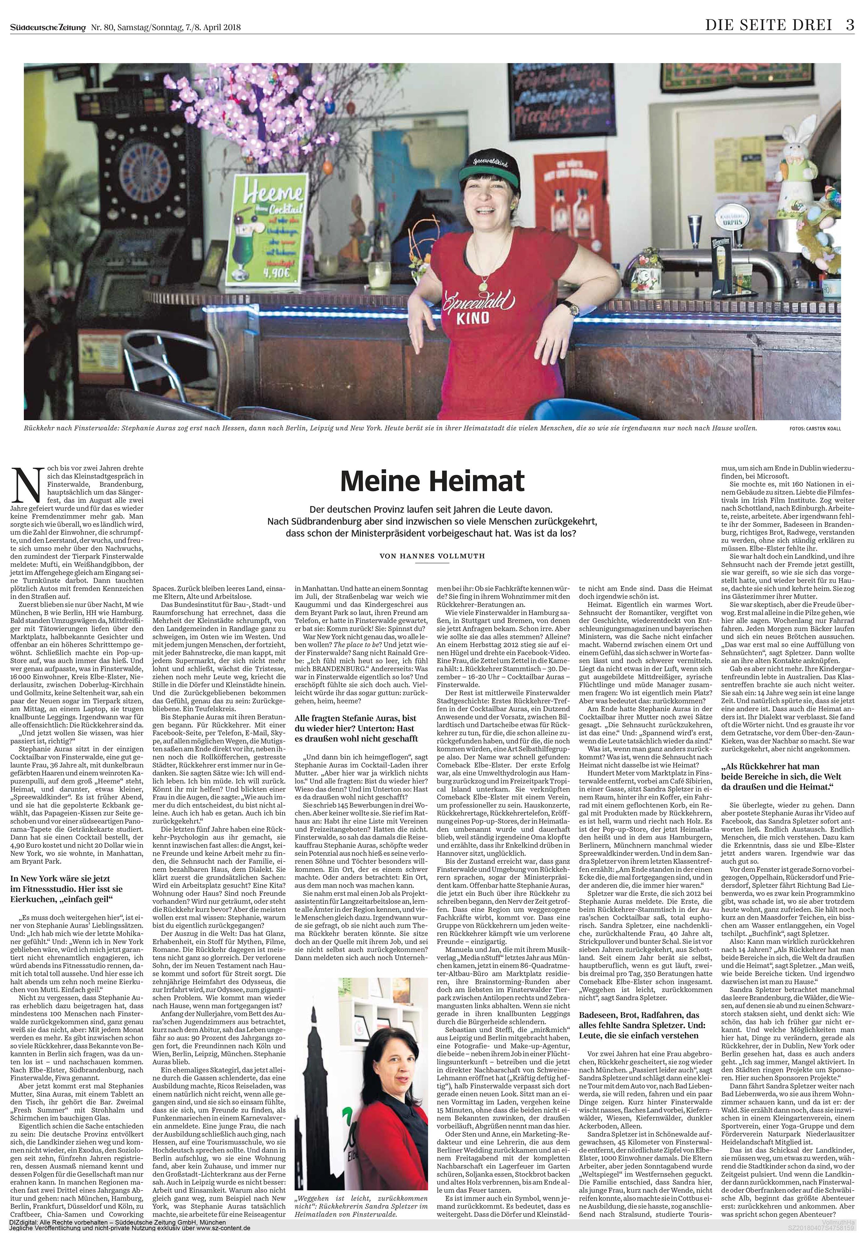 Süddeutsche Zeitung - Seite 3